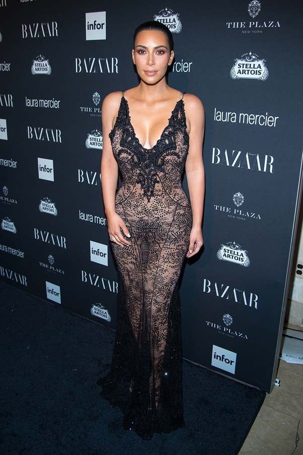 In Givenchy at the BAZAAR Icons party, September 2016.