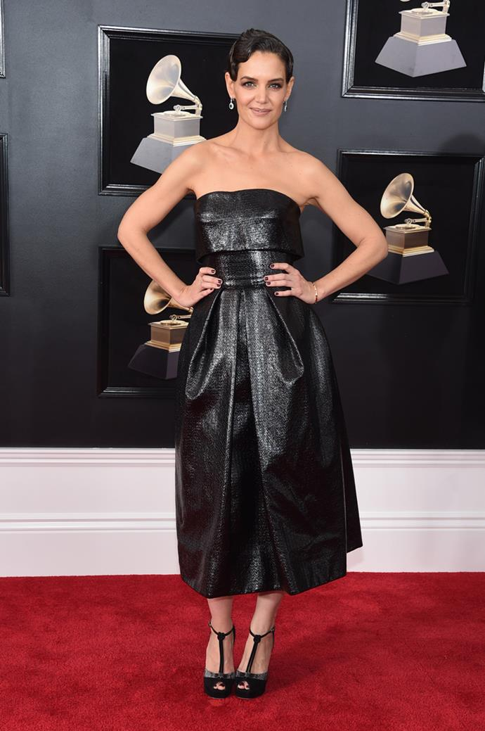 At the 60th Annual Grammy Awards on 28th January, 2018