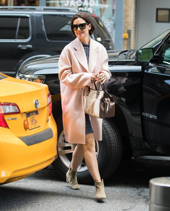 In New York City on 28th April, 2018