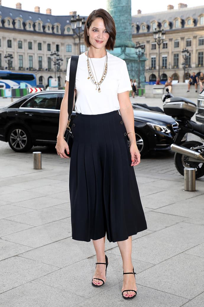 At Paris Haute Couture Fashion Week on 2nd July, 2018