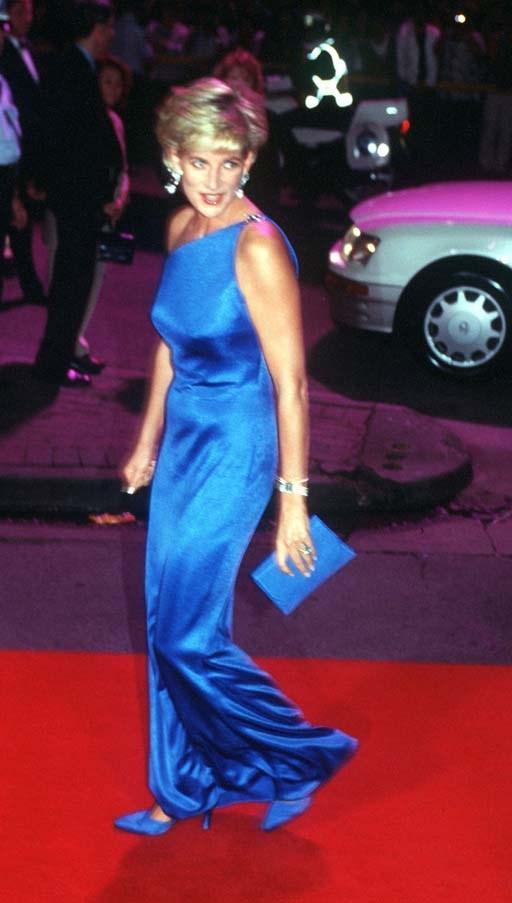 At a gala in Sydney, 1996.