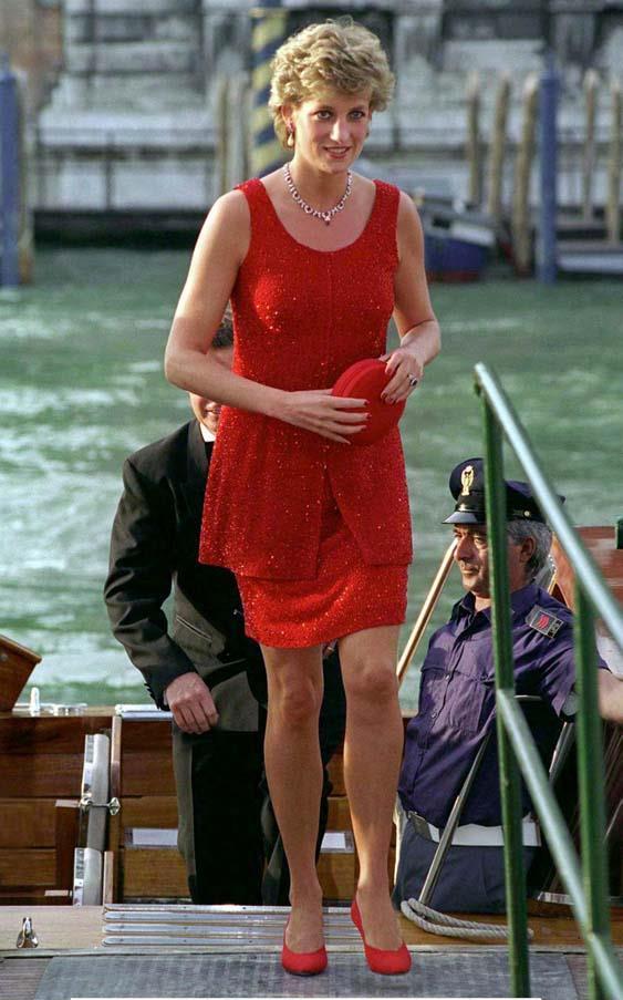 In Venice, 1995.