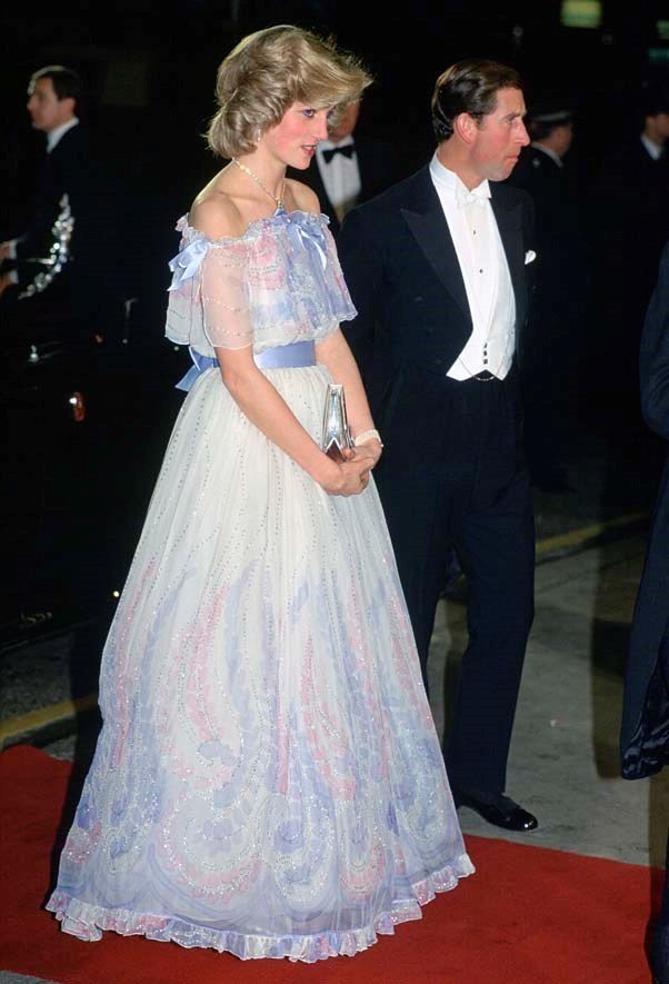 In Bellville Sassoon at the Royal Variety performance, 1984.