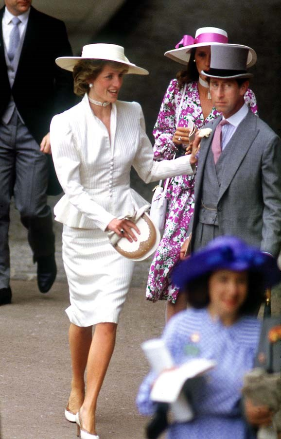 At the Royal Ascot, 1986.
