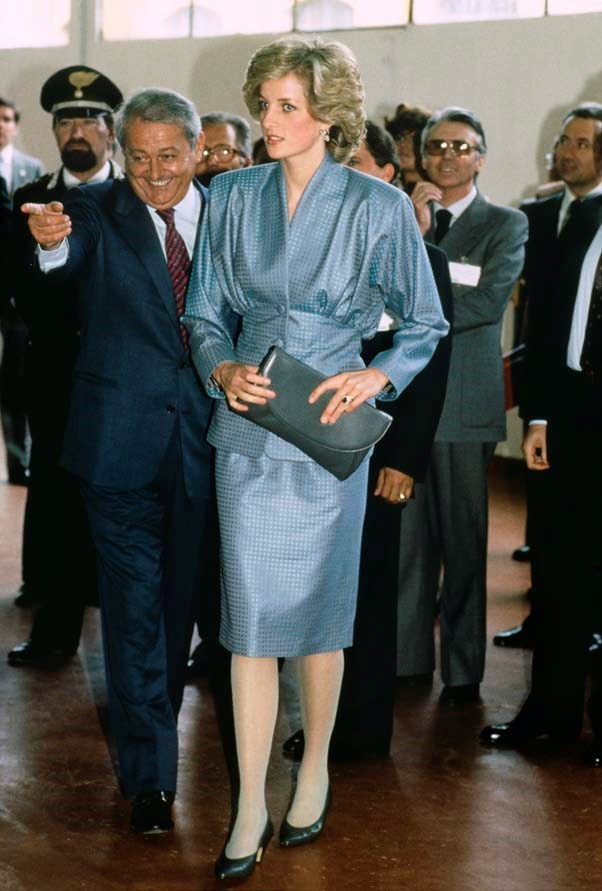 In Milan, 1985.
