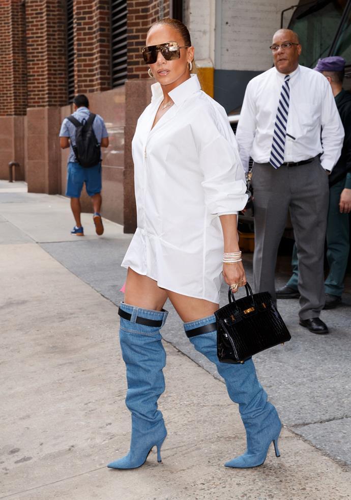 Jennifer Lopez in New York City on 31st July, 2018