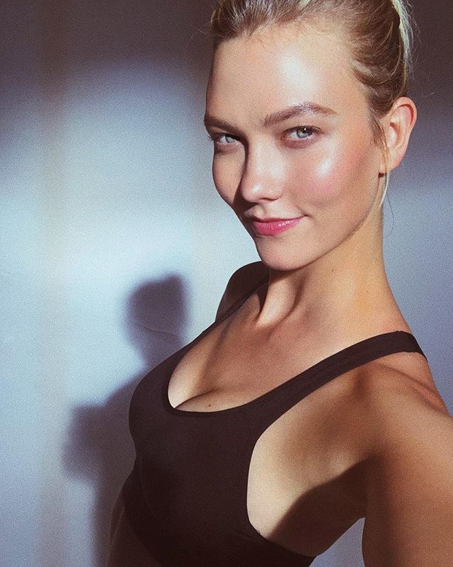 """""""Beauty starts from within, so for me eating healthily is a big part of that,"""" she says. """"When I take care of myself, exercise and eat well, that's what makes me feel most beautiful and confident in my skin."""" <br><Br>""""I don't want to be skinny, I want to be strong,"""" adds Kloss. """"That's what I think is really beautiful."""""""