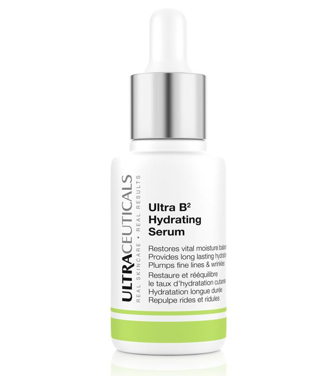 <b>… And Bs</b><br> Hyaluronic acid gets the big rap when it comes to powerful humectants, but your B vitamins work just as well when it comes to retaining water. Vitamin B3 (otherwise known as Niacinamide) works on your lipid-barrier function, which means it not only improves its water-retaining prowess but also visibly plumps it, lessening the effect of fine lines and wrinkles.