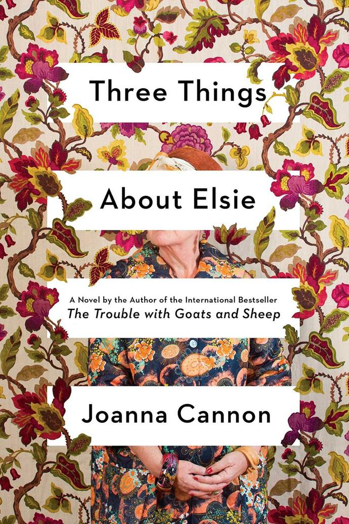 "*Three Things About Elsie* by Joanna Cannon <br><br> Florence has fallen. As the eighty-four year old lies on the floor of her room at the Cherry Tree Home for the Elderly, thoughts of her longtime best friend, Elsie, and the new resident she believes is someone from her own past living under a false identity, preoccupy her mind. Beset by an increasingly unreliable memory, [Florence questions her own mind](https://www.theguardian.com/books/2018/jan/03/three-things-about-elsie-by-joanna-cannon-review|target=""_blank""