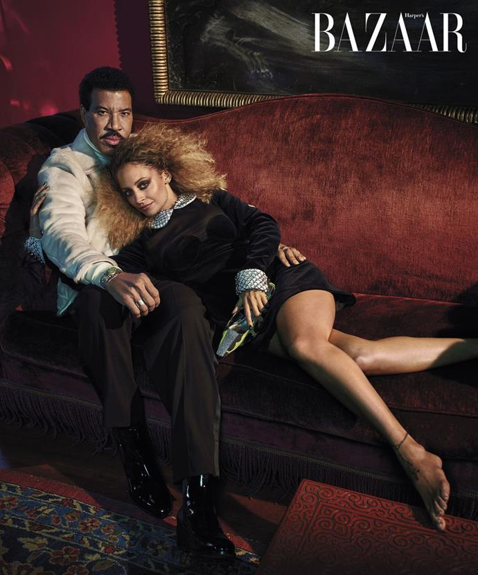 **Lionel Richie with daughter Nicole**