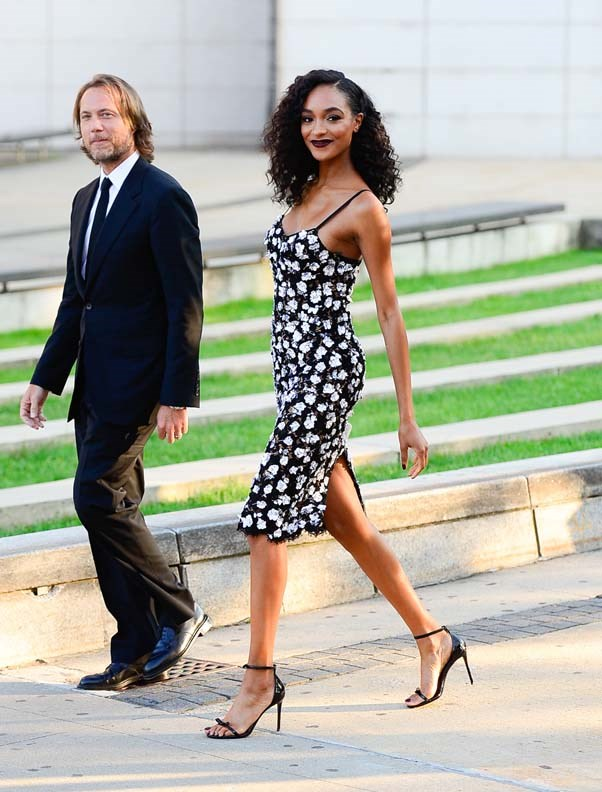 Jourdan Dunn in Michael Kors Collection