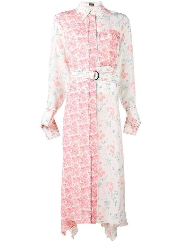 "Dress by Joseph, $1,070 at [Farfetch](https://www.farfetch.com/au/shopping/women/joseph-long-asymmetric-hem-shirt-dress-item-12994854.aspx?storeid=9523 target=""_blank"" rel=""nofollow"")"