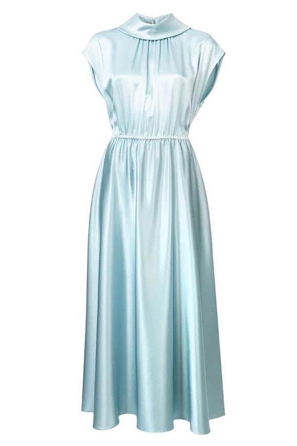 "Dress by Adam Lippes, $2,767 at [Farfetch](https://www.farfetch.com/au/shopping/women/adam-lippes-flared-midi-dress-item-13021609.aspx?storeid=10035 target=""_blank"" rel=""nofollow"")"