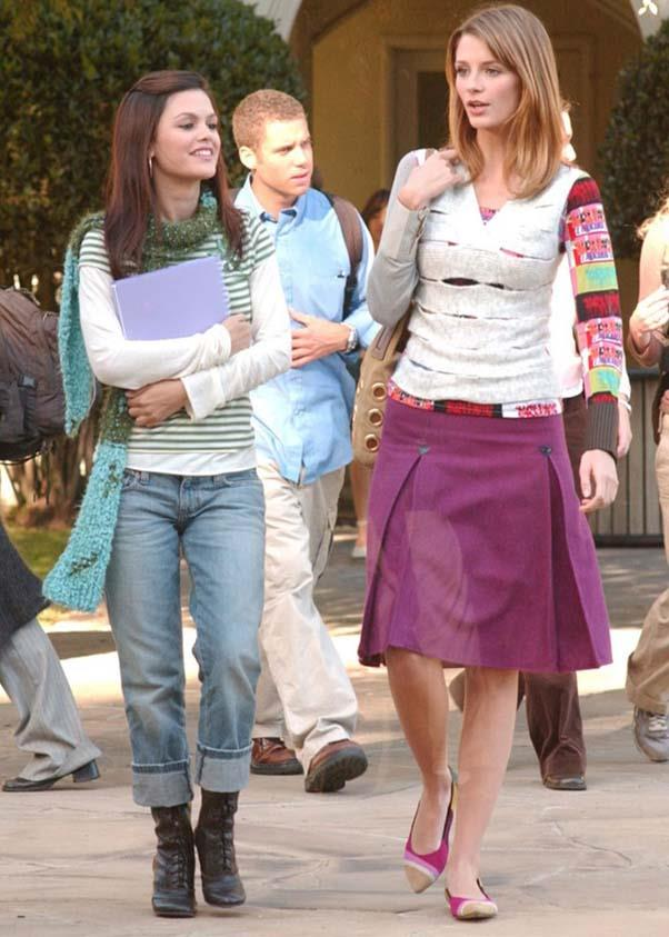 School-friendly attire.