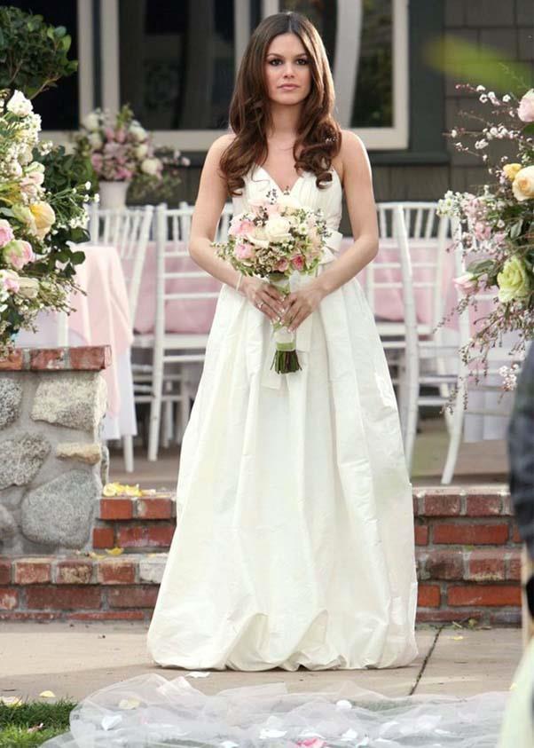 Summer's wedding dress.