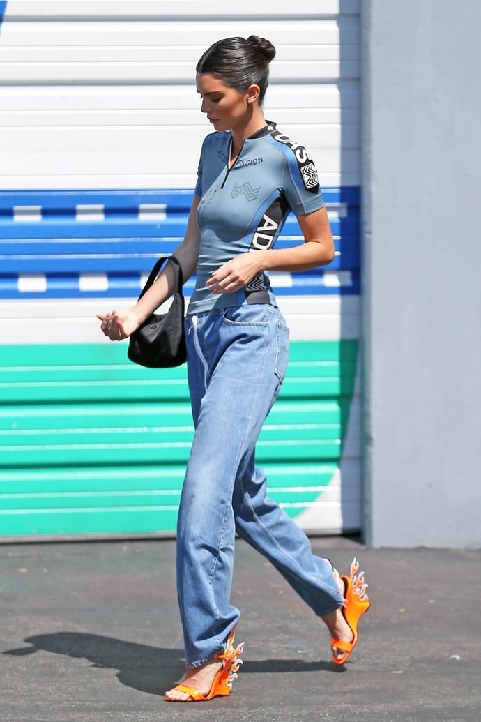 Kendall Jenner<br><br>  Image: Courtesy of Prada