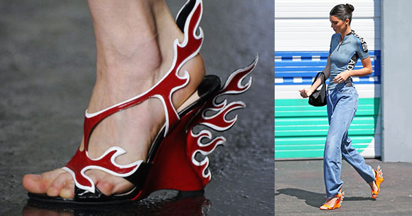 Prada's 'Flame' Heels Are Going To Set