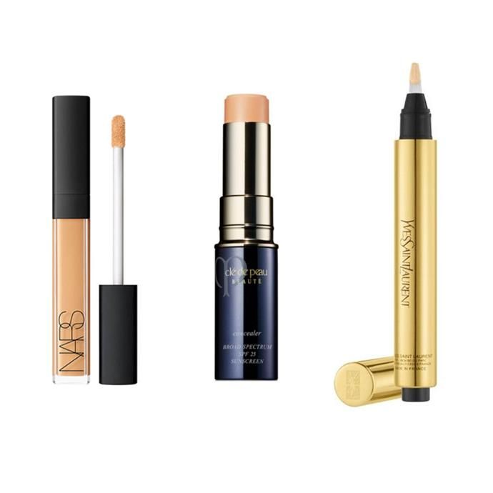 """**CONCEALER:** <br><br> *NARS Radiant Creamy Concealer, $44 at [MECCA](https://www.mecca.com.au/nars/radiant-creamy-concealer-sucre-d-orge/I-031029.html