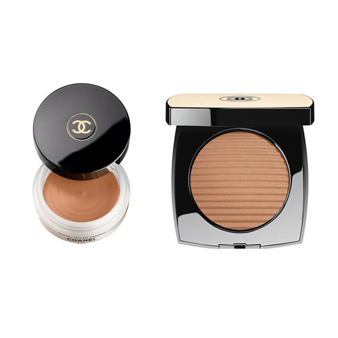 """**BRONZER:** <br><br> *Chanel Soleil Tan De Chanel Bronzing Makeup Base, $69 at [Myer](https://www.myer.com.au/shop/mystore/bronzing-makeup-base-796159550