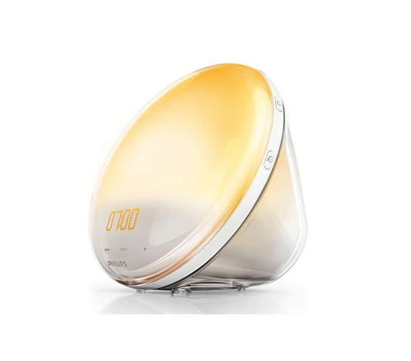 "**Philips Wake-up Light, $190 at [Phillips](https://www.philips.ca/c-p/HF3520_60/wake-up-light|target=""_blank""|rel=""nofollow"")**"