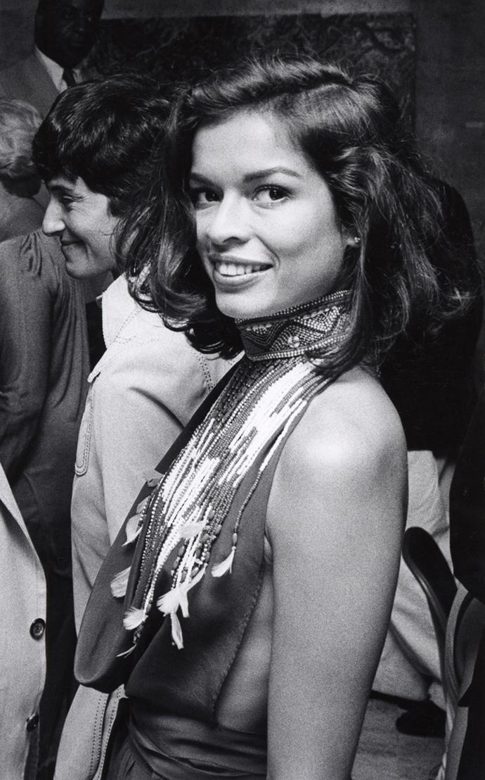 At a Four Seasons party, 1976