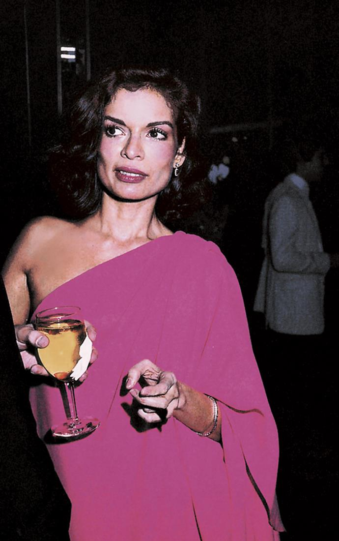 At a cocktail event in New York, 1978
