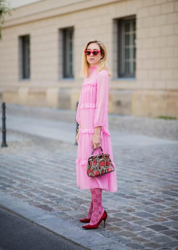 **Bubblegum pink**