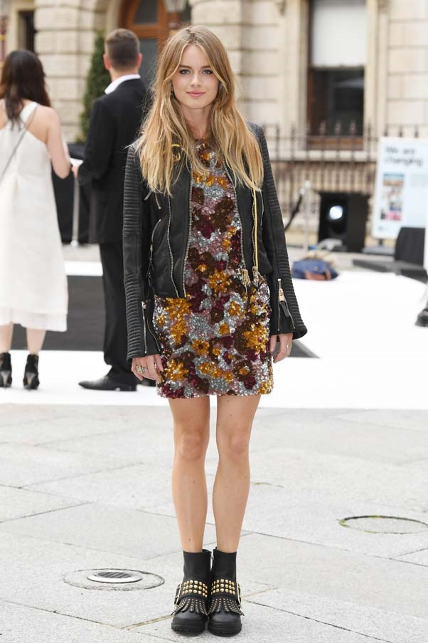**Cressida Bonas** <br><br> Another of Harry's ex-girlfriend's is set to attend, as Bonas is a close friend of Eugenie (Eugenie reportedly introduced Harry and Cressida back in 2012.
