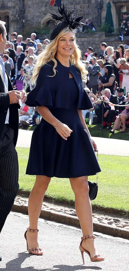 "**Chelsea Davy** <br><br> Prince Harry's ex-girlfriend will reportedly be in attendance, making this her second royal wedding in a year, according to *[Harper's BAZAAR US](https://www.harpersbazaar.com/celebrity/latest/a22697102/princess-eugenie-jack-brooksbank-royal-wedding-guest-list/|target=""_blank""
