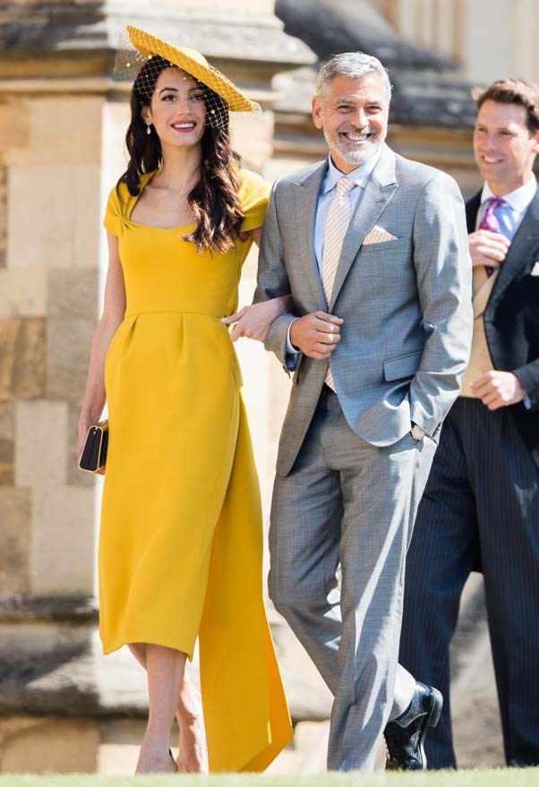 **Amal Clooney and George Clooney** <br><br> If reports are to be believed the Clooneys will also be attending Princess Eugenie's wedding. The groom, Jack Brooksbank, is an ambassador for George's tequila brand Casamigos Tequila—so it's within the realms of possibility.