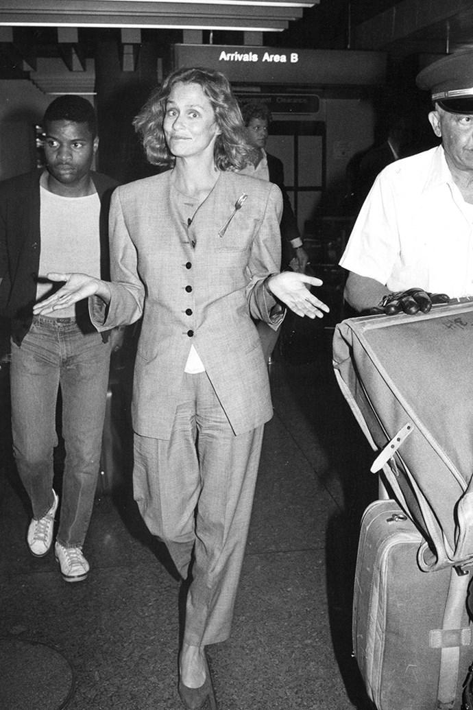 Hutton in 1986