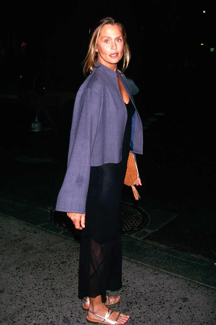 Hutton in 1990