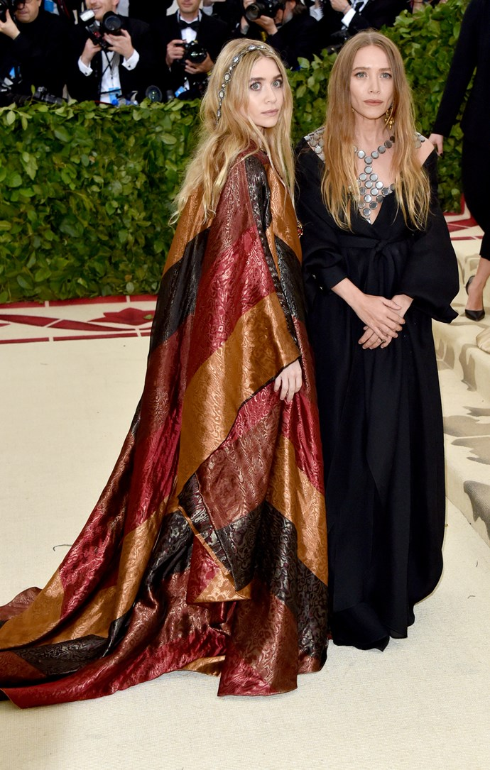 Mary Kate and Ashley Olsen at the 2018 Met Gala