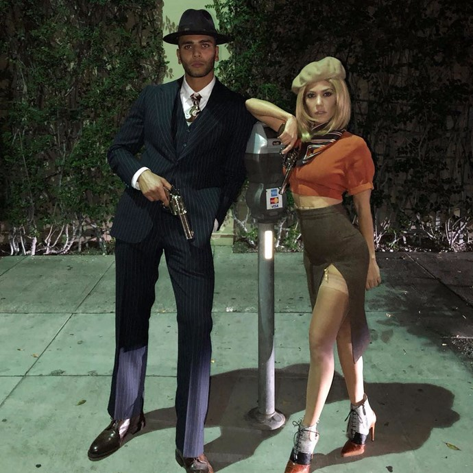 **OCTOBER 2017** <br><br>  A year after meeting, the reality star and the model passed an important relationship milestone—couples costumes. <br><br>  The two spent Halloween together, dressing at notorious criminal couple, Bonny and Clyde to attend a themed party in L.A.