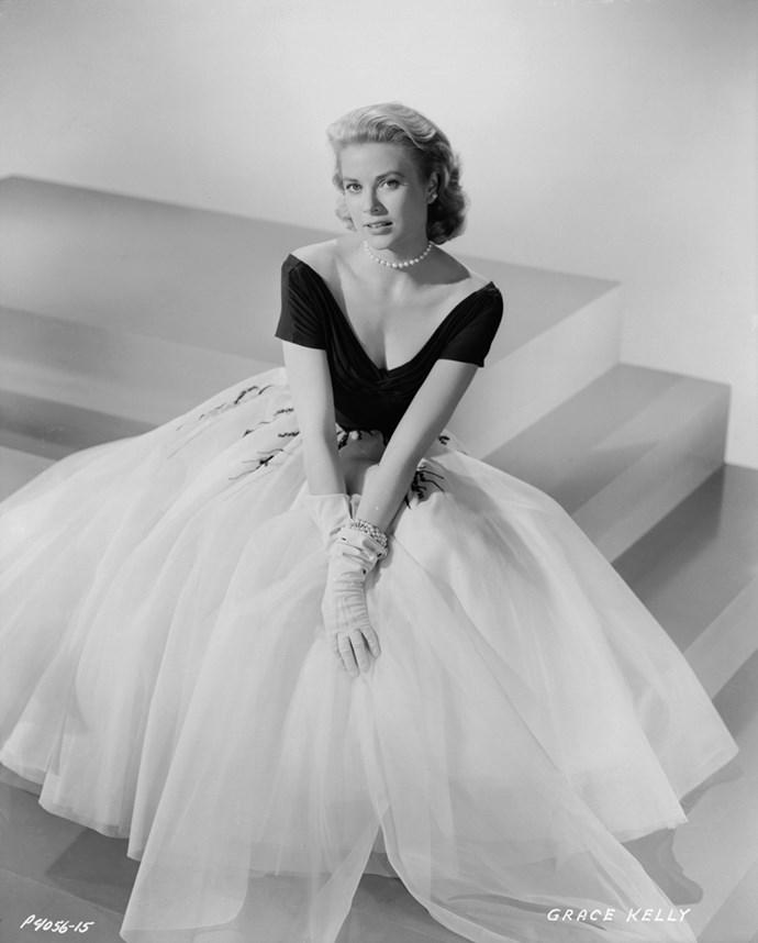 On the set of *Rear Window*, 1954