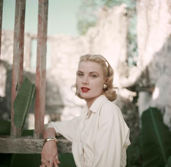 On-set portrait, circa 1955