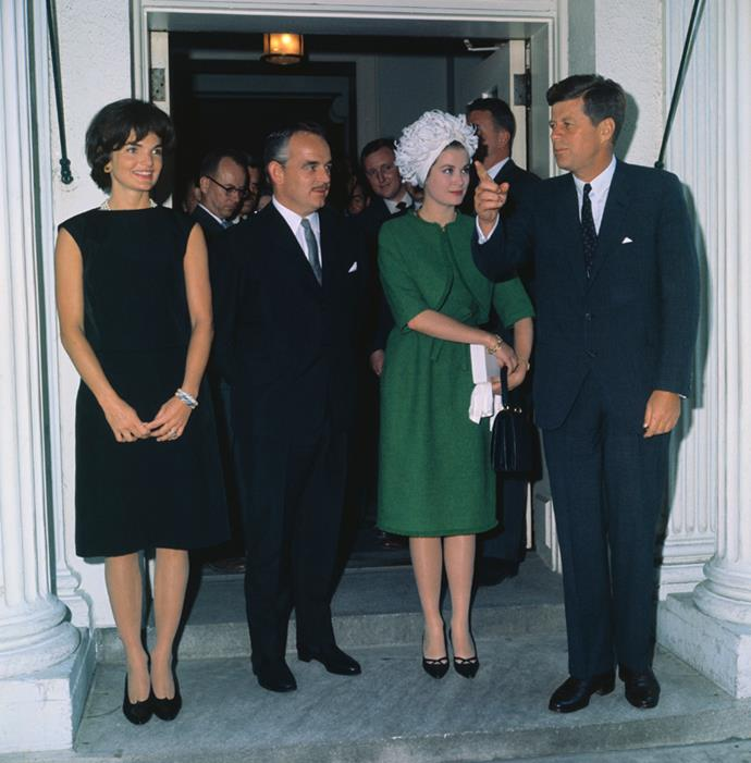 With the Kennedys at The White House, 1961