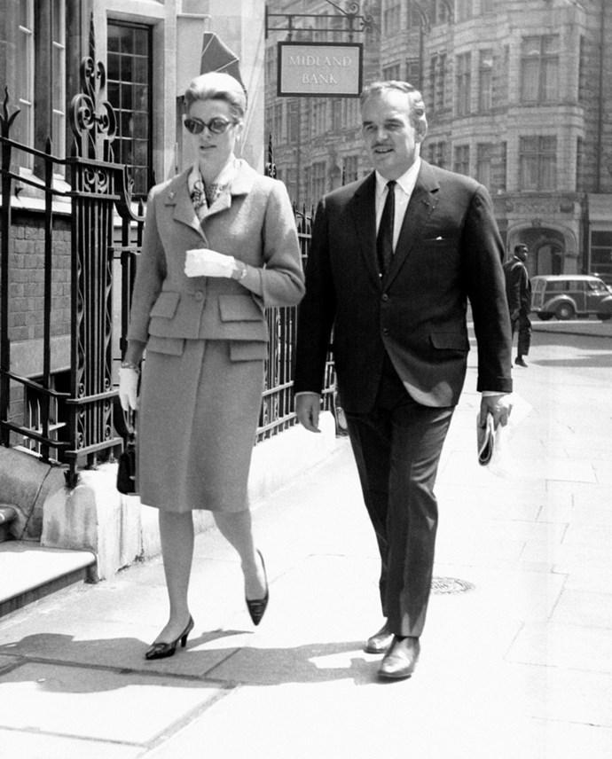 Prince Rainier III in London, 1963