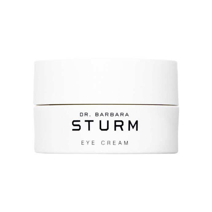 "Dr. Barbara Sturm Eye Cream, $200 at [MECCA](https://www.mecca.com.au/dr-barbara-sturm/eye-cream/I-031655.html|target=""_blank""