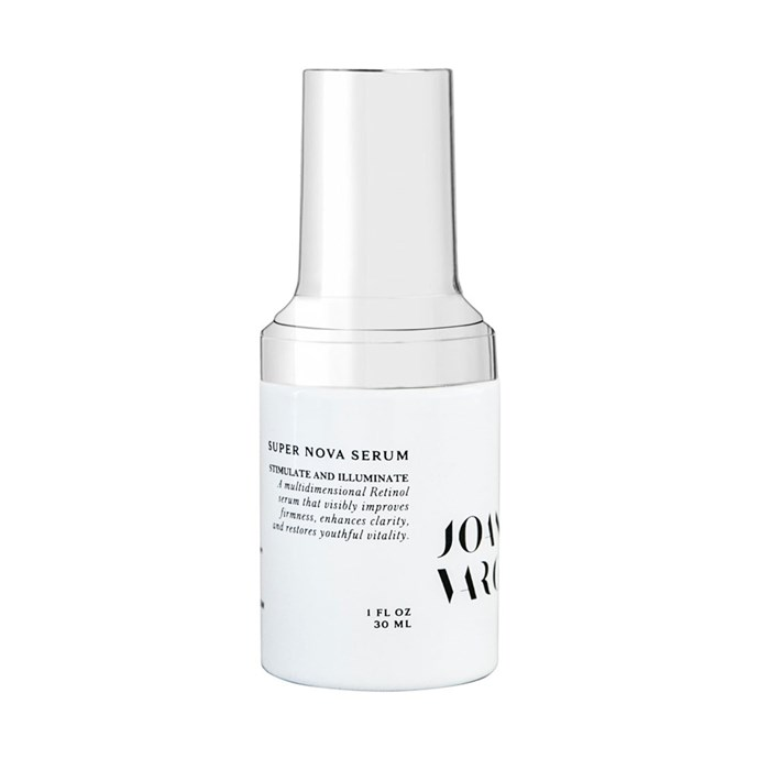 """**SERUM:** <br><br> Joanna Vargas Supernova Serum, $430 at [Nordstrom](https://shop.nordstrom.com/s/joanna-vargas-supernova-serum/4978669