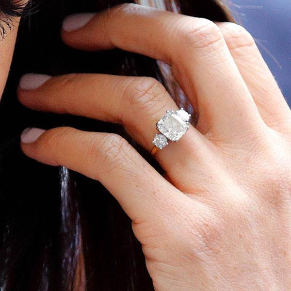 **Capricorn: Cushion cut** <br><br> Capricorn women are, in a word, classic, and a strong believers that in investing in timeless trends. Few ring styles fit this brief like a cushion cut diamond—just ask Meghan Markle.