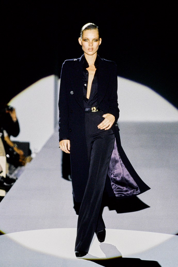 Kate Moss at Gucci autumn/winter '96