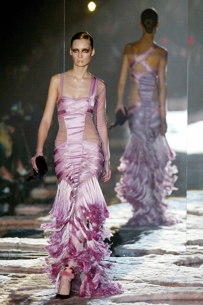 Gucci autumn/winter 2005, Ford's final collection
