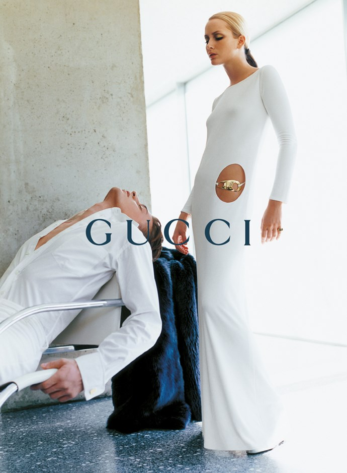 Gucci's autumn/winter '96 campaign, photographed by Mario Testino