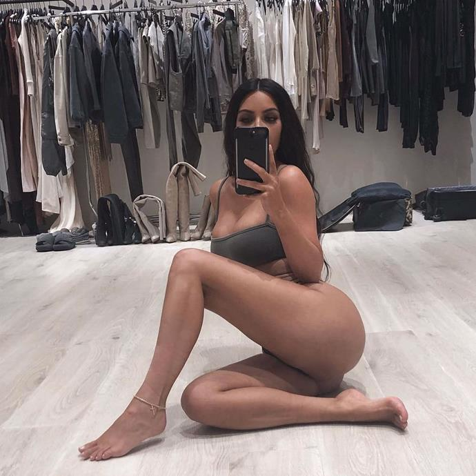 "**KIM KARDASHIAN'S BUTT WORKOUT** <br><br> Speaking to [*PEOPLE*](https://people.com/health/kim-kardashian-really-proud-20-lb-weight-loss/|target=""_blank""