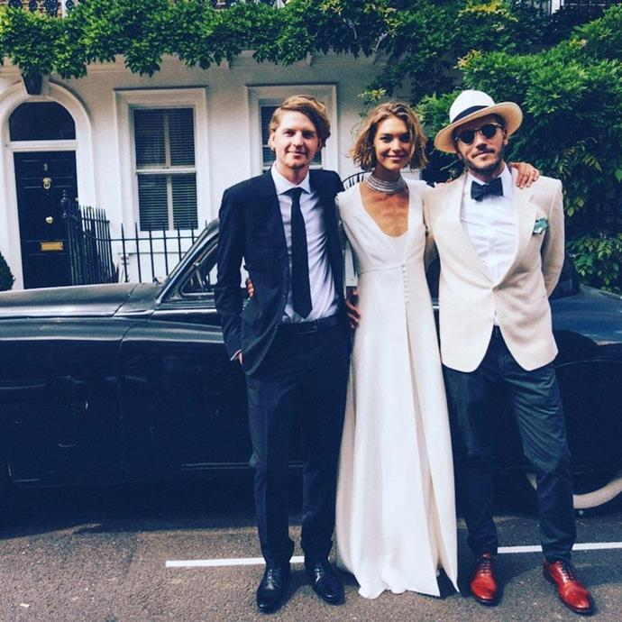 [Arizona Muse wore Temperley to marry](https://www.harpersbazaar.com.au/bazaar-bride/arizona-muse-model-wedding-13479) Boniface Verney-Carron in 2017.