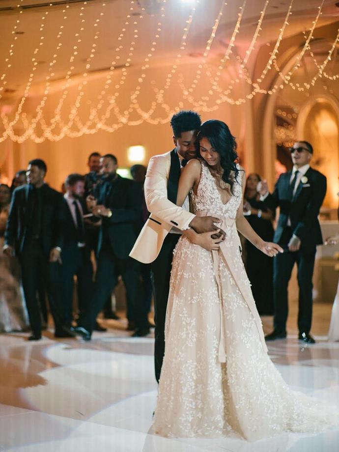 [Chanel Iman wore Zuhair Murad to marry](https://www.harpersbazaar.com.au/bazaar-bride/chanel-iman-wedding-15926) Sterling Shepard in 2018.