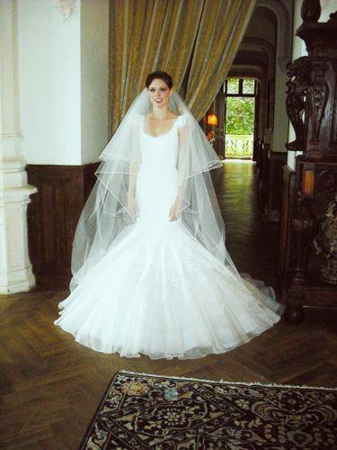 Coco Rocha wore Zac Posen to marry James Conran in 2010.