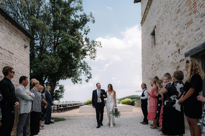 **On the reception: ** <br><br> We had the antipasti as a standing and two courses of sit down meals, with our cake being served after our first dance.