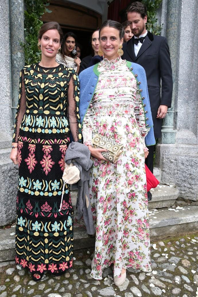 Maria Astrid Princess of Liechtenstein and guest